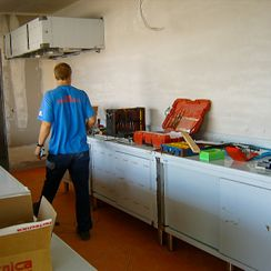 Transformation de cuisines - JP DUBOUX Balances - Machines - Gland